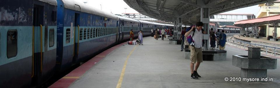 Trains from Mysore