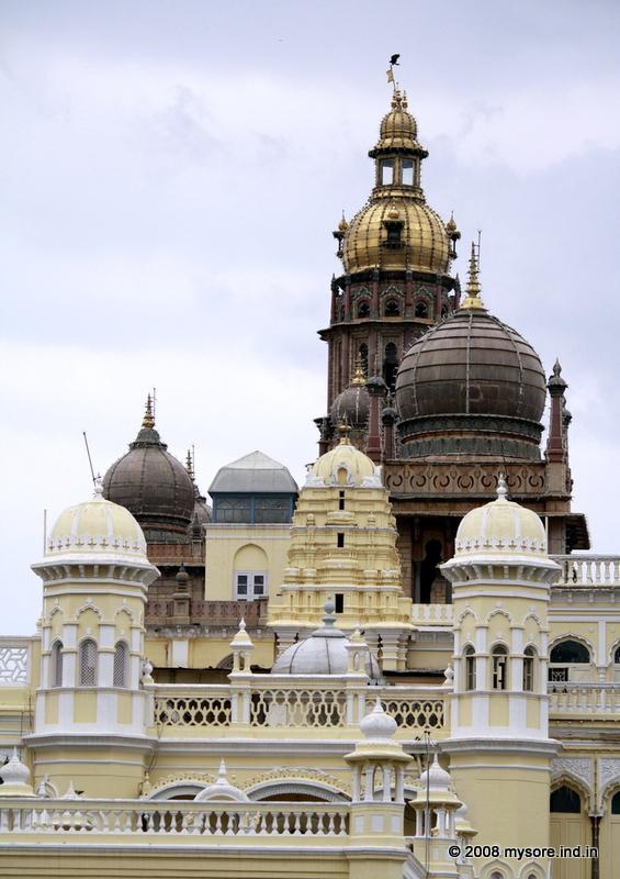 Mysore Palace domes