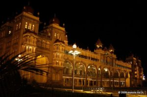 Mysore Palace Lighting timings