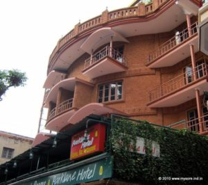 Parklane hotel on Harsha Road