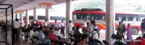 Mysore KSRTC bus stand