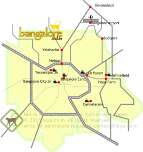 Railway Stations in Bangalore.
