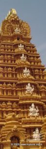 The tower of Nanjundeshwara temple