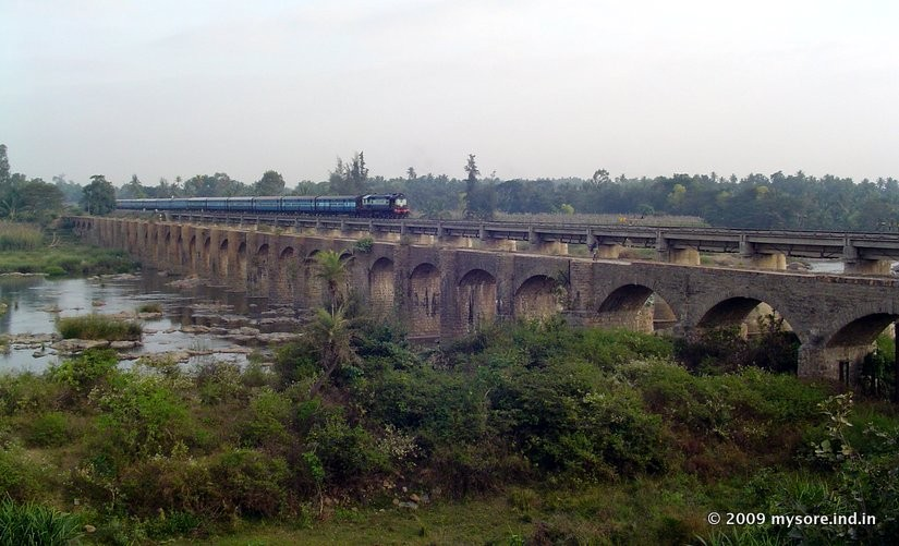 Srirangapatna Mysore Timings to Mysore Train Timings