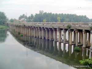 Wellesley Bridge across River Kaveri in Srirangapatna