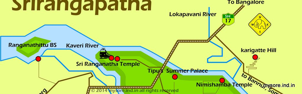 Nimishamba Temple Route Map How To Reach Nimishamba Temple From - Map route distance